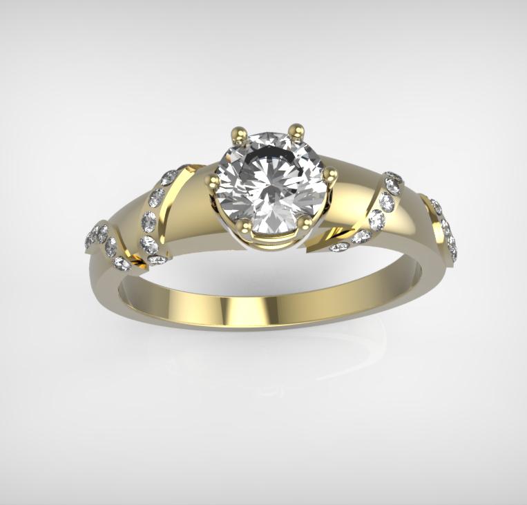 Arany-Gyémánt gyűrű13