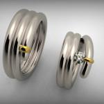 Fehérarany-Gyémánt gyűrű1