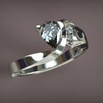 Fehérarany-Gyémánt gyűrű3