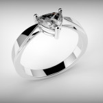 Fehérarany-Gyémánt gyűrű11