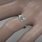 Fehérarany-Gyémánt gyűrű12