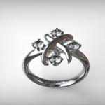 Fehérarany-Gyémántos gyűrű15