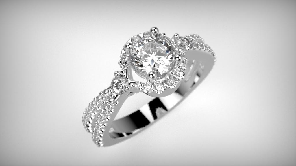 Fehérarany-Gyémántos gyűrű14