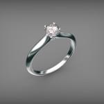 Fehérarany-Gyémánt gyűrű19