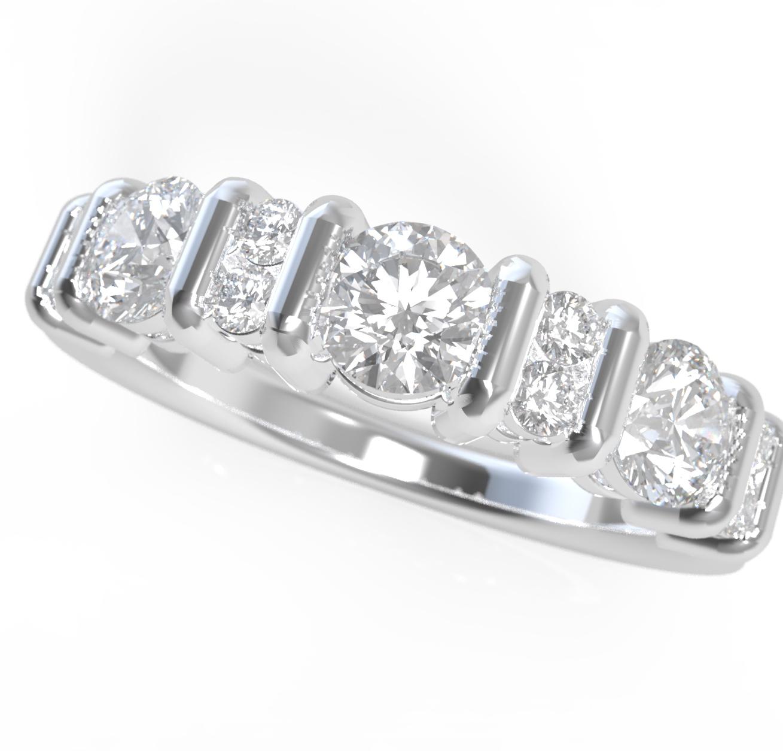 Fehérarany gyémánt gyűrű23