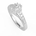 Fehérarany gyémántos gyűrű25