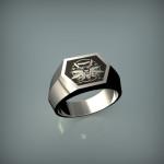 Fehérarany gyűrű 01